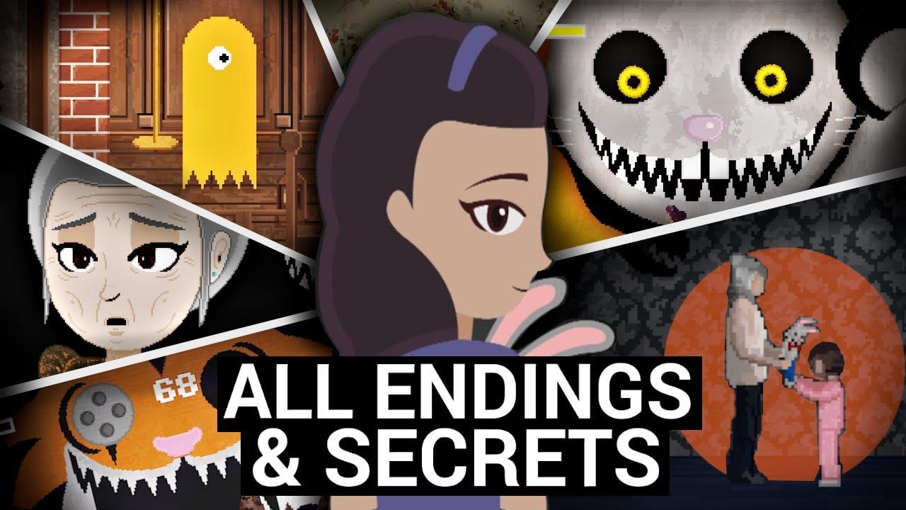 The Secrets of Mr. Hopp's Playhouse 2 (All Endings / Medallions / Secret Stages)