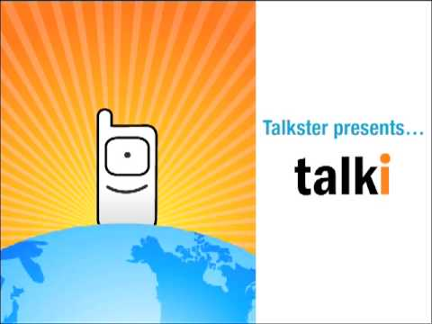 Talkster's new mobile app - Talki. Save on international calls to any country.