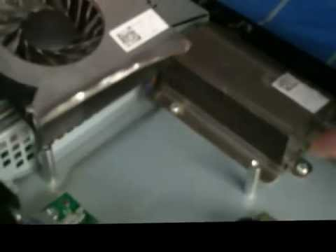 Dell Inspiron One fan cleaning