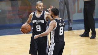 Kawhi Leonard, Tony Parker Combine for 56 Points! Spurs Finish Grizzlies Game 6