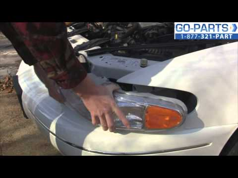 Replace 1997-2005 Buick Century Headlight / Bulb, How to Change Install 1998 1999 2000 2001 2002