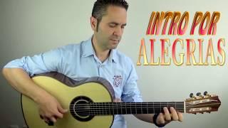 FALSETA POR ALEGRIAS, INTRO, Tutorial (Jerónimo de Carmen) Guitarraflamenca