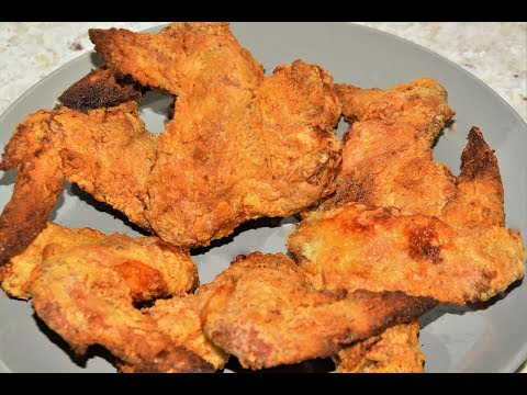 Oven Southern Fried Chicken Wings - Crispy Oven Fried Chicken