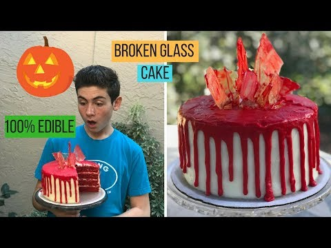 HALLOWEEN BROKEN GLASS CAKE | Episode 47 Baking With Ryan