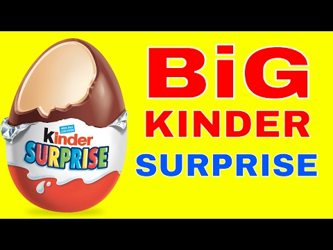 KINDER EGG SURPRISE UNBOXING / OPENING MARVEL HEROES AND THE GOLDEN EGG