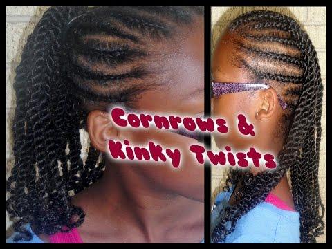 169 - Child Hair Care (Cornrow & Kinky Twists w/Extensions) Tutorial