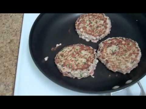 Weight Loss Turkey Burger Recipe