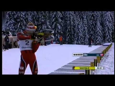 Johannes Thingnes Boe - Incredible fast standing shooting