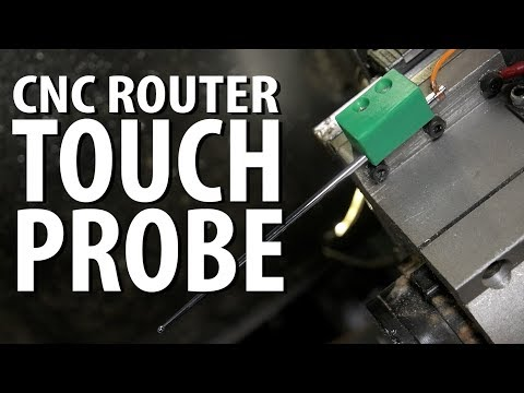 DIY Touch Probe & Cheap Mist Coolant