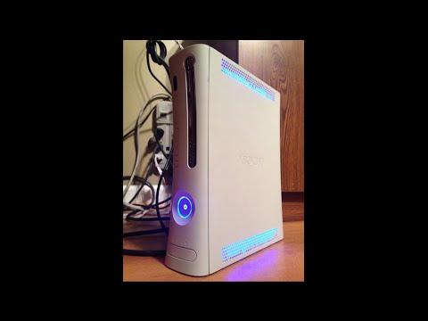 Custom Xbox 360, Console Only w/30 Day Warranty, Free Customs (Rainbow LED's) Sharky's Customs