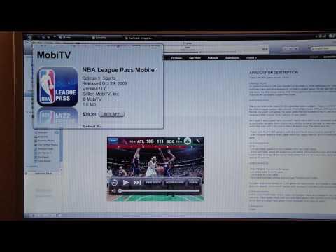 App Review: NBA League Pass Mobile
