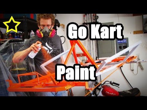 How to Paint a Go Kart