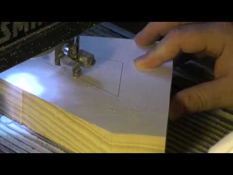 How to cut large letters from 1 1/2