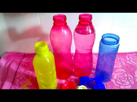 How to Clean Smelly Water Bottles /Tips to Clean water Bottles Diy / How to Clean Inside of Bottle