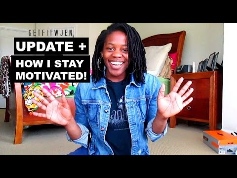 How I Stay Motivated to Workout & Eat Healthy + Update