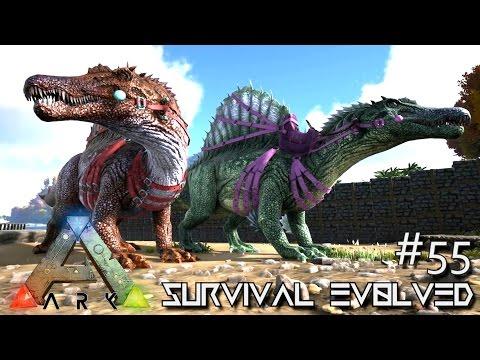ARK: Survival Evolved - TAMING SPINOSAURUS !!! [Ep 55] (Server Gameplay)