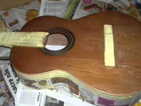 Guitar Restoring, Repairing & Customizing - Alhambra fom spain ( by Rui Dias)