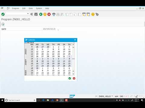 ABAP Selection Screens and List Processing 4/9/2018