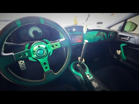 Installing NRG Steering Wheel with Quick Release (Scion FRS)