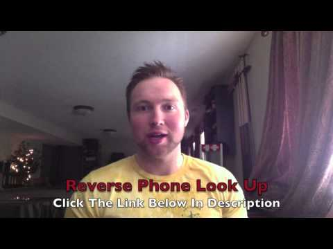 Reverse Phone Look Up - Top Rated Service!