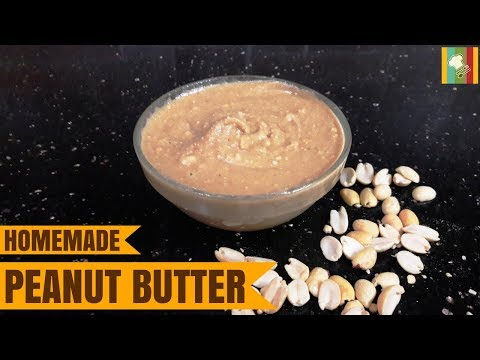 Homemade Peanut Butter Recipe | Peanut Butter Recipe Tamil | How to Make Peanut Butter at Home