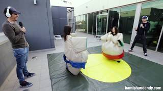 The Veronicas Sumo Fight For