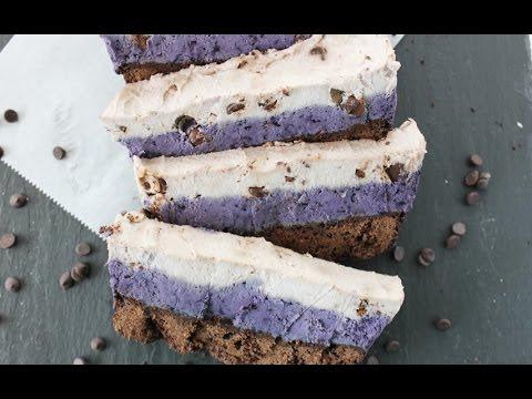 Chocolate chip cookie dough blueberry fudge brownie cake #glutenfree #vegan #grainfree