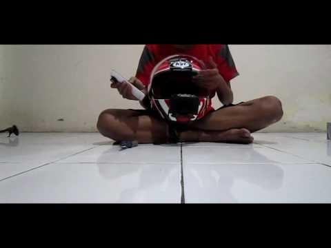 Membuat Holder Hp Di Helm pengganti action cam [Afifmotovlog] so easy