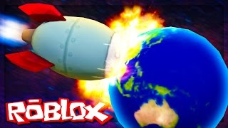 Roblox Adventures - SURVIVE A SPACESHIP CRASH INTO A PLANET! (Spaceship Crash into Planet Zorg)
