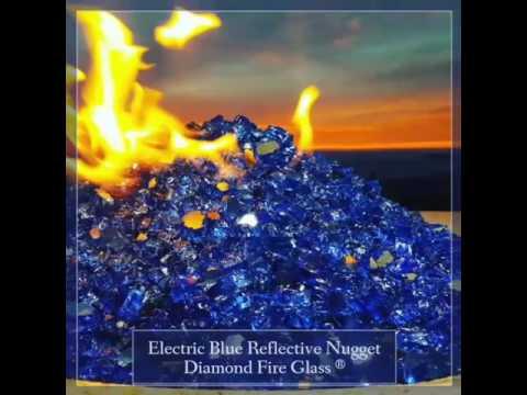 Fire Pit Glass by Diamond Fire Glass ®