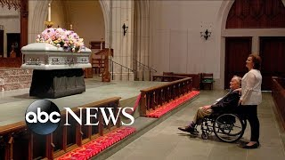 Bush family preparing funeral of former first lady