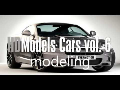 Making of a 3D car from HDModels Cars vol. 6