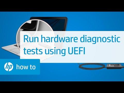 Running Hardware Diagnostic Tests Using UEFI