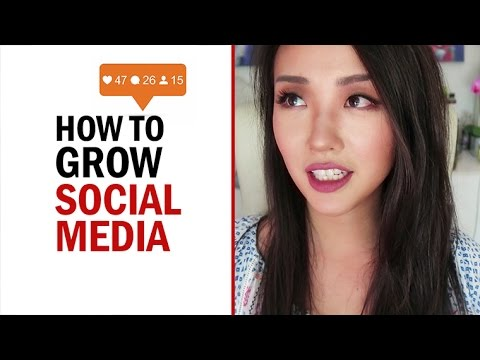 HOW TO GROW YOUR SOCIAL MEDIA (6 tips!!)