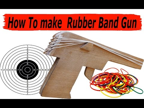 How to make  Rubber Band Gun which fires multiple rubber bands