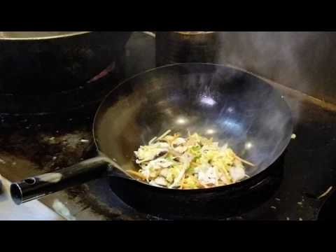 How To Cook Fast Meal/chicken and shrimp noodles
