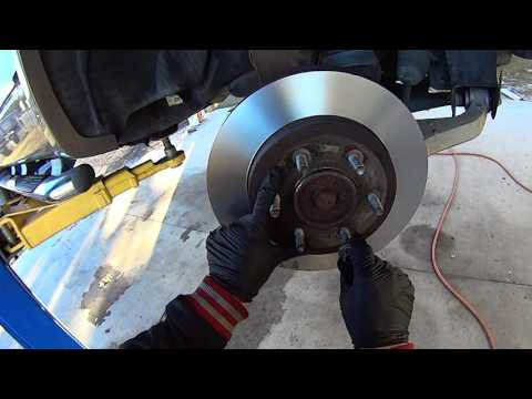 Replace Front Brake Pads and Rotors on '04-'08 Ford F-150 Truck