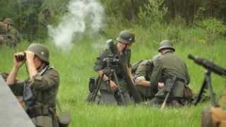 WW2 German Army 8cm Mortar Fire - GrossDeutschland