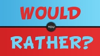 GROUNDED BY SANCHO | Would You Rather #2