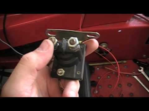 How to rewire a riding lawn mower super easy