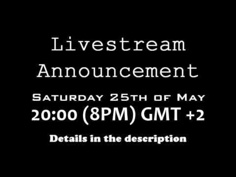 Livestream Announcement #1