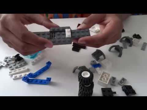 How to make a LEGO Sports car in HD 1080p
