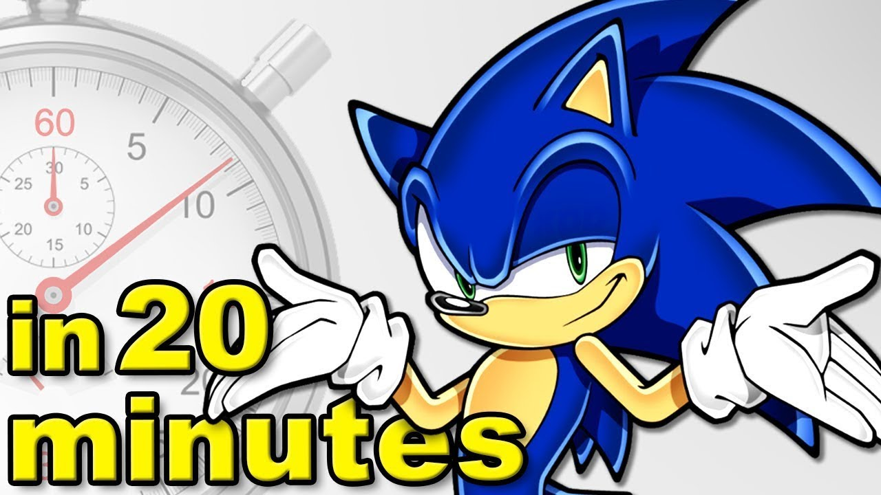 The History of Sonic The Hedgehog (ft Jimmy Whetzel) | A Brief History