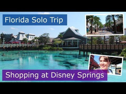 Day 5 | Disney Springs and getting lost at Disney | Walt Disney World solo trip | Florida 2017