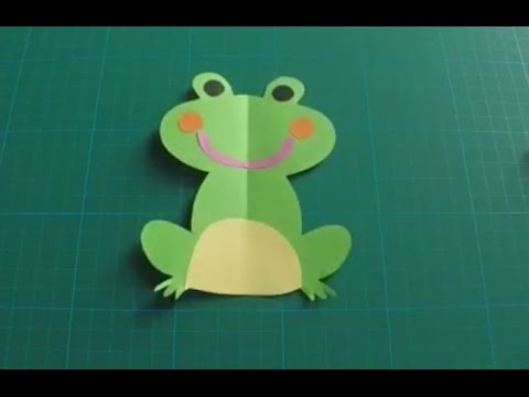 How to make a paper frog (Diy-Handmade)