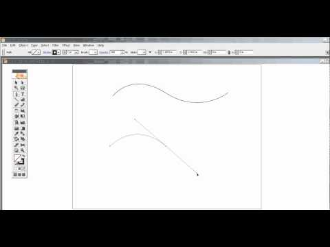 how to draw curved lines