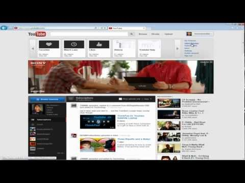 How to delete YouTube viewing history(updated 2012)