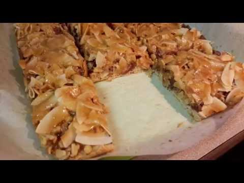 Cowboy Coconut Bars- Review Everyday Food