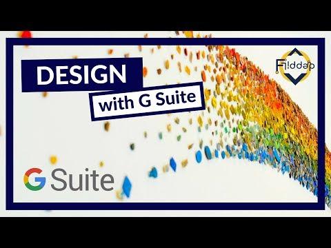 Designing in G Suite, Timelapse of Logo and Design Language