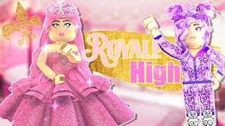 I Threw A Frappe At Her At Prom Roblox Royale High